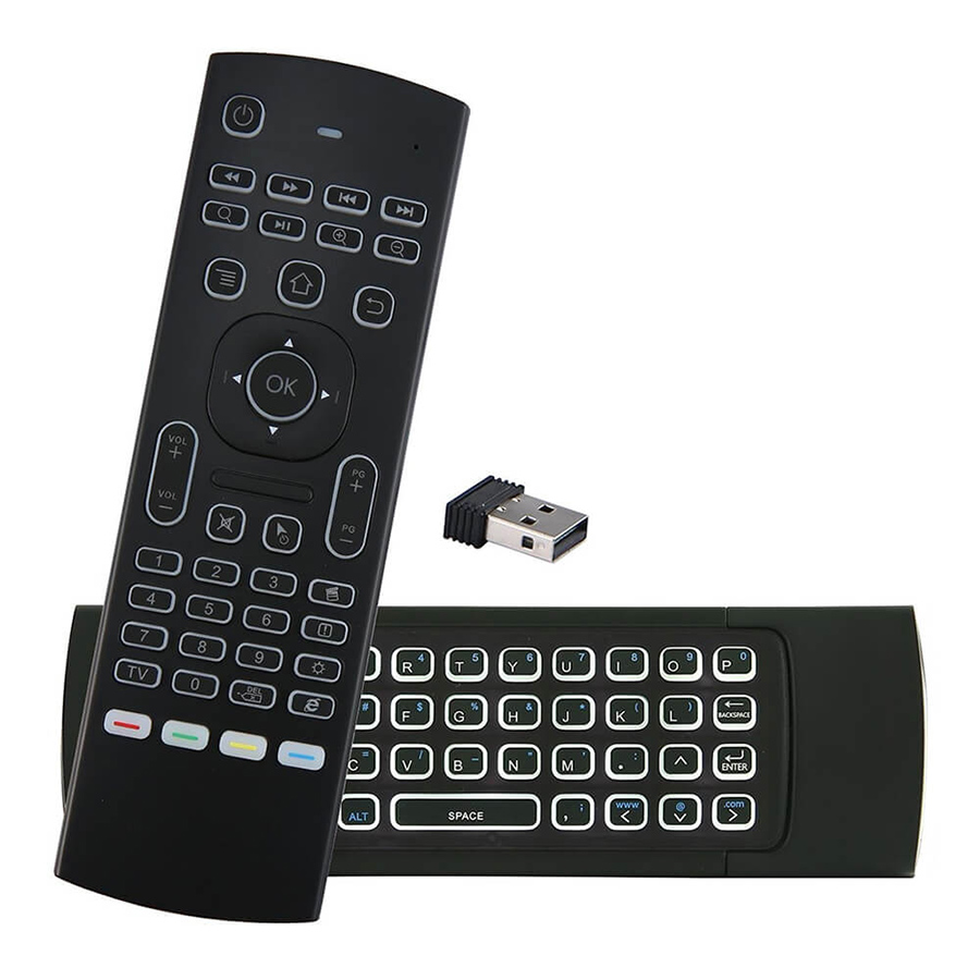Air Mouse backlit 2.4GHz Wireless Remote Control